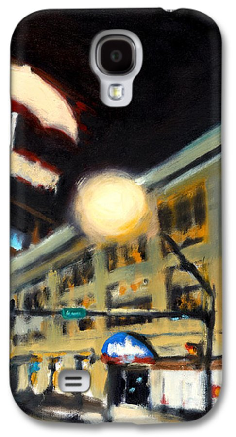 Rob Reeves Galaxy S4 Case featuring the painting Untitled by Robert Reeves