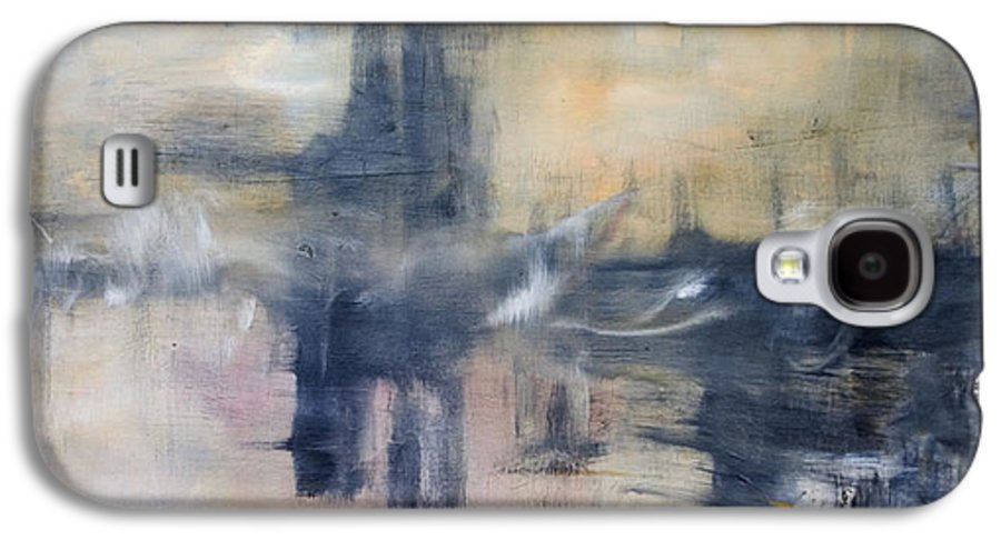 Cityscape Galaxy S4 Case featuring the painting Untitled by Shawnequa Linder