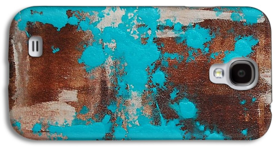 Diptech Galaxy S4 Case featuring the painting Urbanesque I by Lauren Luna