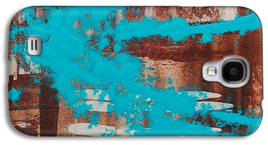 Urban Galaxy S4 Case featuring the painting Urbanesque II by Lauren Luna
