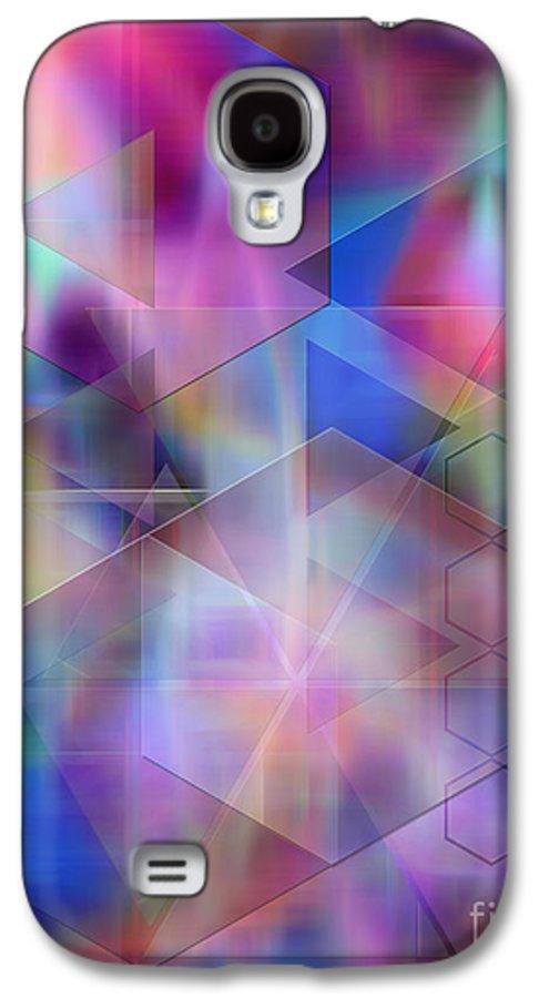 Usonian Dreams Galaxy S4 Case featuring the digital art Usonian Dreams by John Beck
