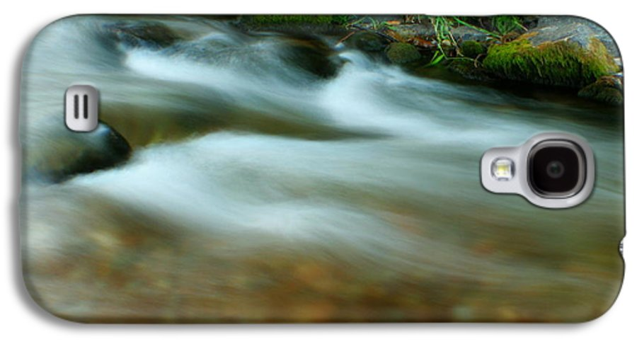River Galaxy S4 Case featuring the photograph Velvet River by Idaho Scenic Images Linda Lantzy