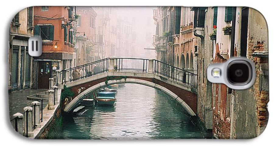 Venice Galaxy S4 Case featuring the photograph Venice Canal II by Kathy Schumann
