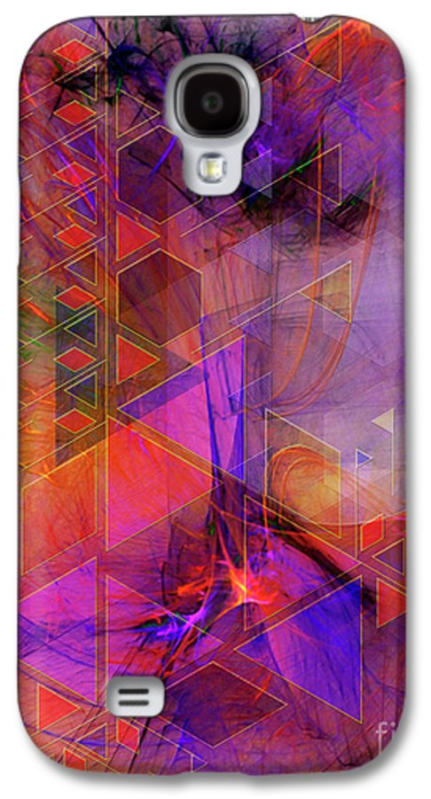 Vibrant Echoes Galaxy S4 Case featuring the digital art Vibrant Echoes by John Beck