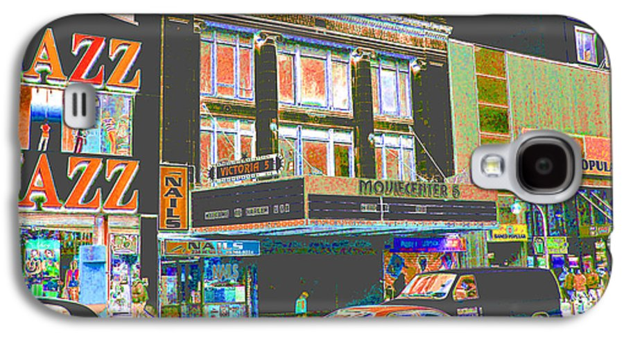 Harlem Galaxy S4 Case featuring the photograph Victoria Theater 125th St Nyc by Steven Huszar