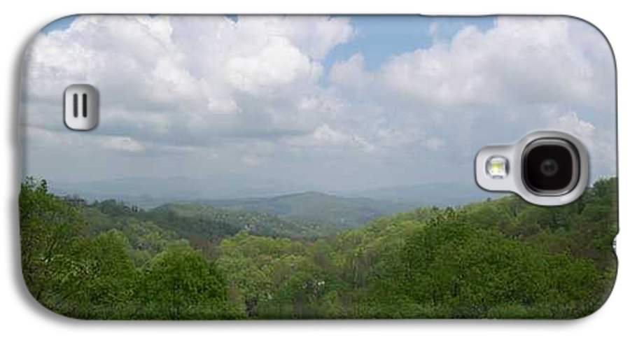 Mountains Galaxy S4 Case featuring the photograph View From Ober Gatlinburg by Barb Montanye Meseroll