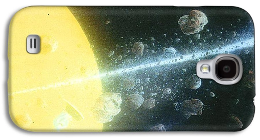 Spacescape Galaxy S4 Case featuring the painting View Master by A Robert Malcom