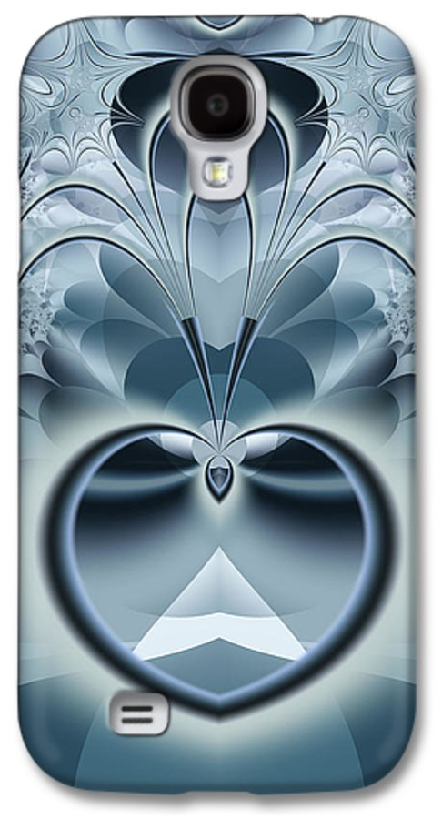 Fractal Galaxy S4 Case featuring the digital art Vision by Frederic Durville