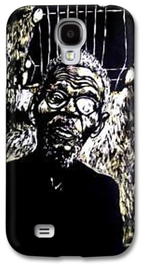 Galaxy S4 Case featuring the mixed media Walimu Wally by Chester Elmore