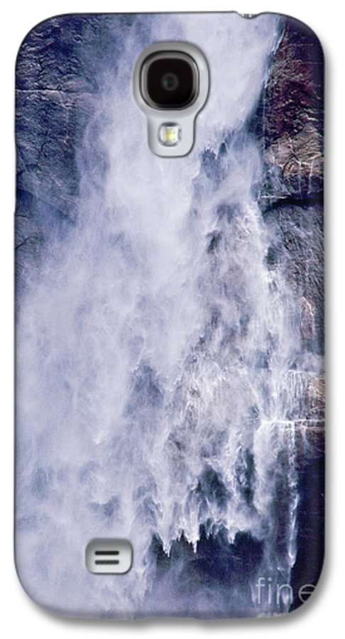 Waterfall Galaxy S4 Case featuring the photograph Water Drops by Kathy McClure