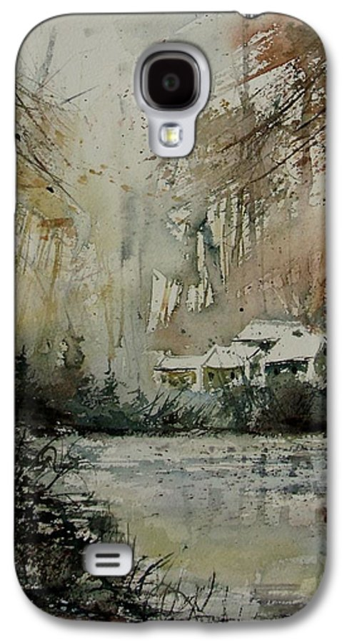 Landscape Galaxy S4 Case featuring the painting Watercolor 070608 by Pol Ledent