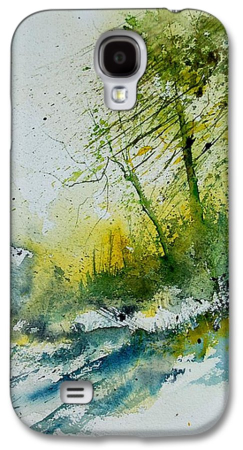 River Galaxy S4 Case featuring the painting Watercolor 181207 by Pol Ledent