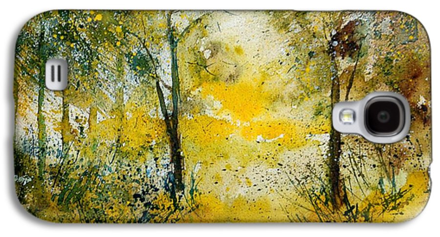 River Galaxy S4 Case featuring the painting Watercolor 210108 by Pol Ledent