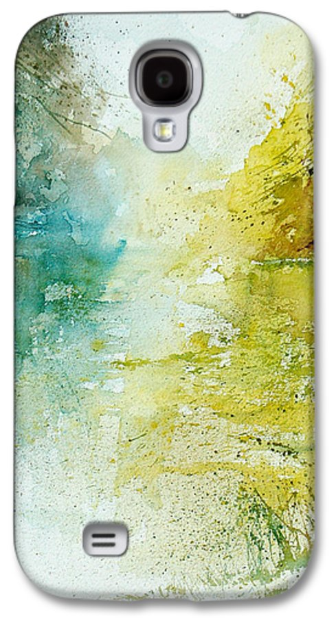 Pond Nature Landscape Galaxy S4 Case featuring the painting Watercolor 24465 by Pol Ledent