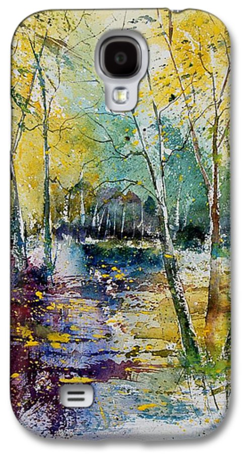 Pond Galaxy S4 Case featuring the painting Watercolor 280809 by Pol Ledent
