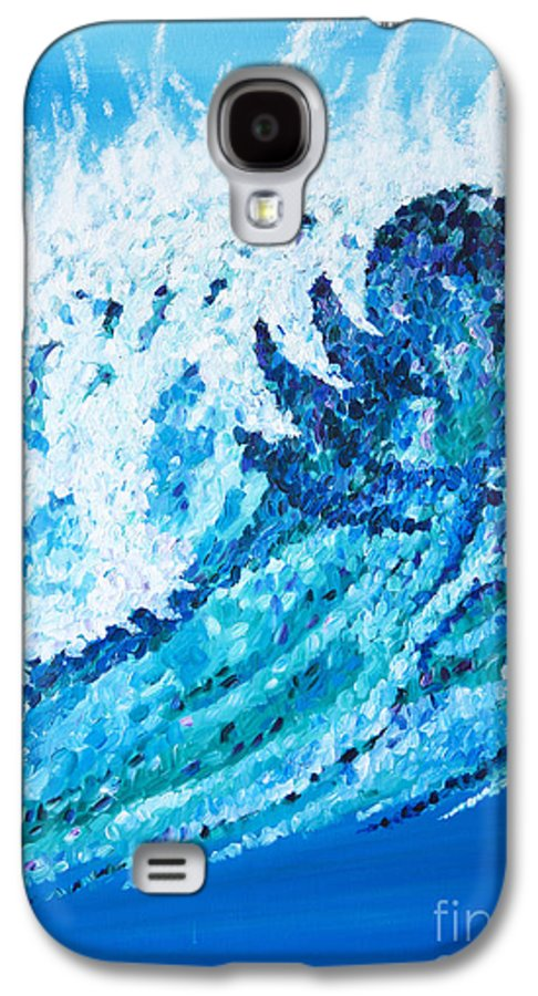 Ocean Galaxy S4 Case featuring the painting Watercolor by JoAnn DePolo