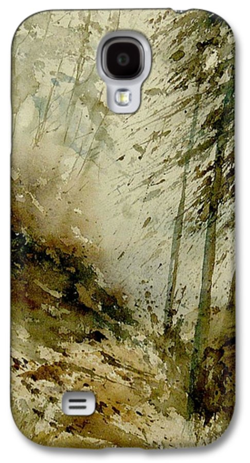 Landscape Galaxy S4 Case featuring the painting Watercolor Misty Atmosphere by Pol Ledent
