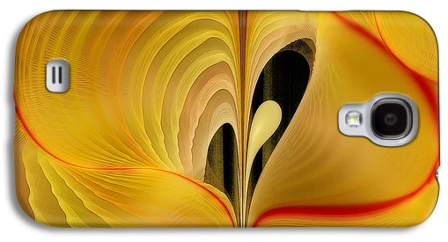 Fractal Galaxy S4 Case featuring the digital art We Shall Feel It Within Our Being by Gayle Odsather