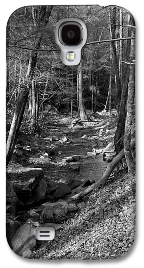 Nature Galaxy S4 Case featuring the photograph Wesser Creek Trail by Kathy Schumann