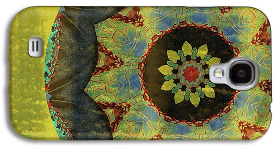 Digital Art Galaxy S4 Case featuring the digital art Wheel Of Time by Bonnie Bruno