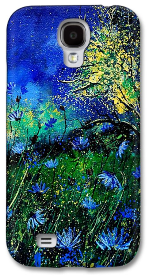 Poppies Galaxy S4 Case featuring the painting Wild Chocoree by Pol Ledent