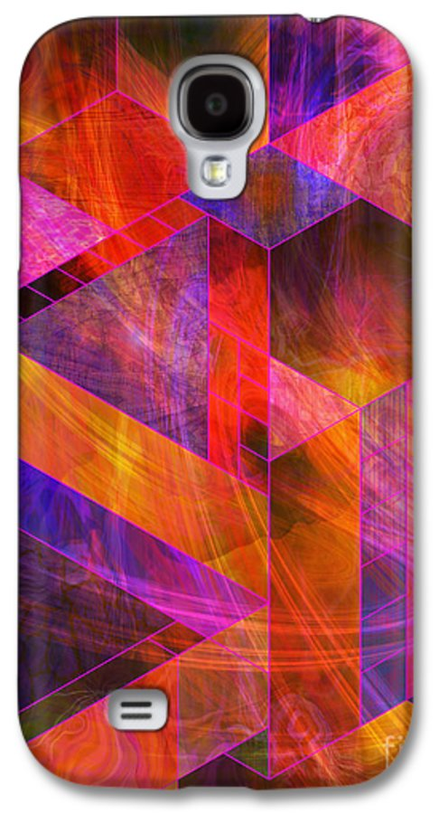 Wild Fire Galaxy S4 Case featuring the digital art Wild Fire by John Beck