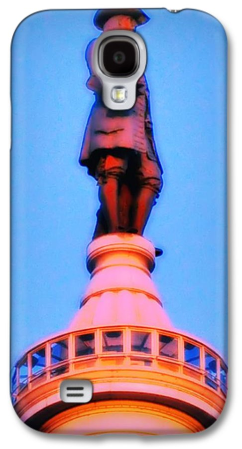 William Penn Galaxy S4 Case featuring the photograph William Penn - City Hall In Philadelphia by Bill Cannon