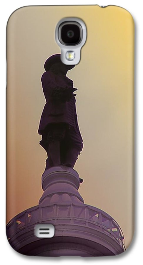 Philadelphia Galaxy S4 Case featuring the photograph William Penn by Bill Cannon