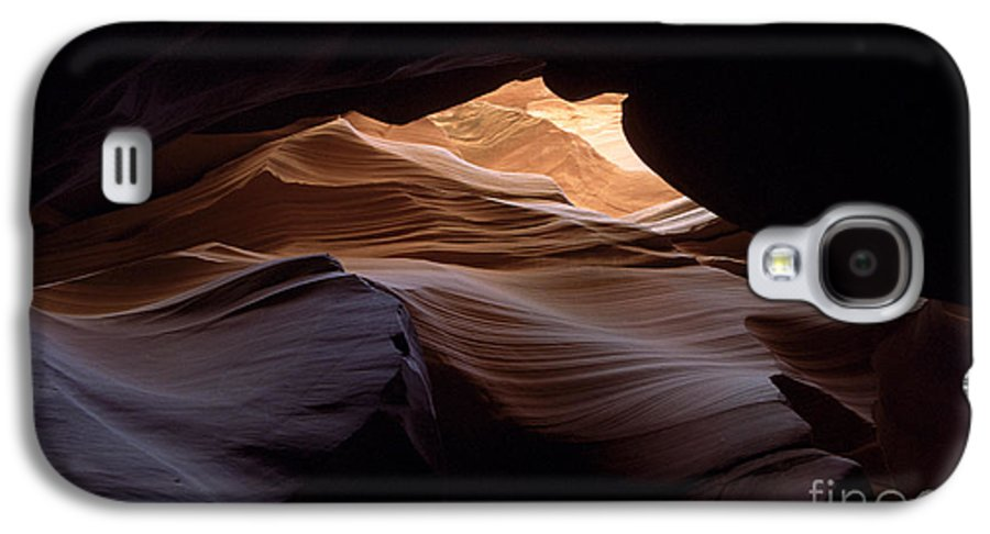 Antelope Canyon Galaxy S4 Case featuring the photograph Wind And Water by Kathy McClure