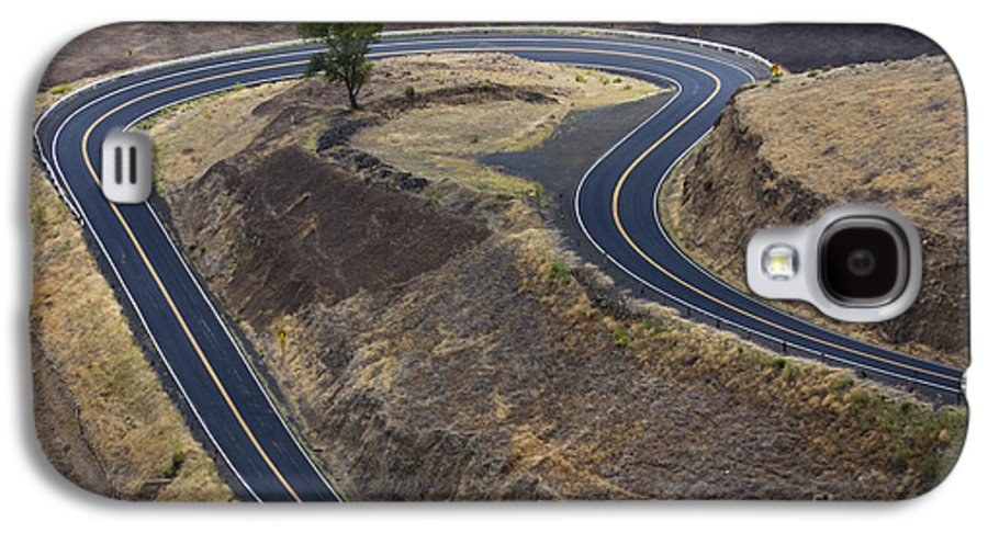 Road Galaxy S4 Case featuring the photograph Winding Road by Idaho Scenic Images Linda Lantzy