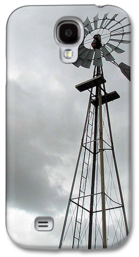 Windmill Galaxy S4 Case featuring the photograph Windmill by Margaret Fortunato