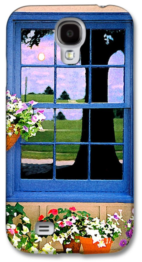 Still Life Galaxy S4 Case featuring the photograph Window by Steve Karol