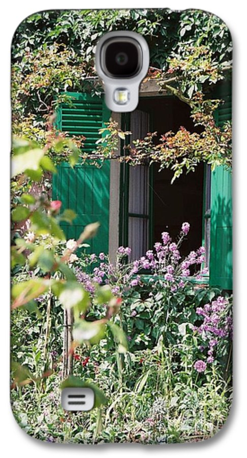 Charming Galaxy S4 Case featuring the photograph Window To Monet by Nadine Rippelmeyer