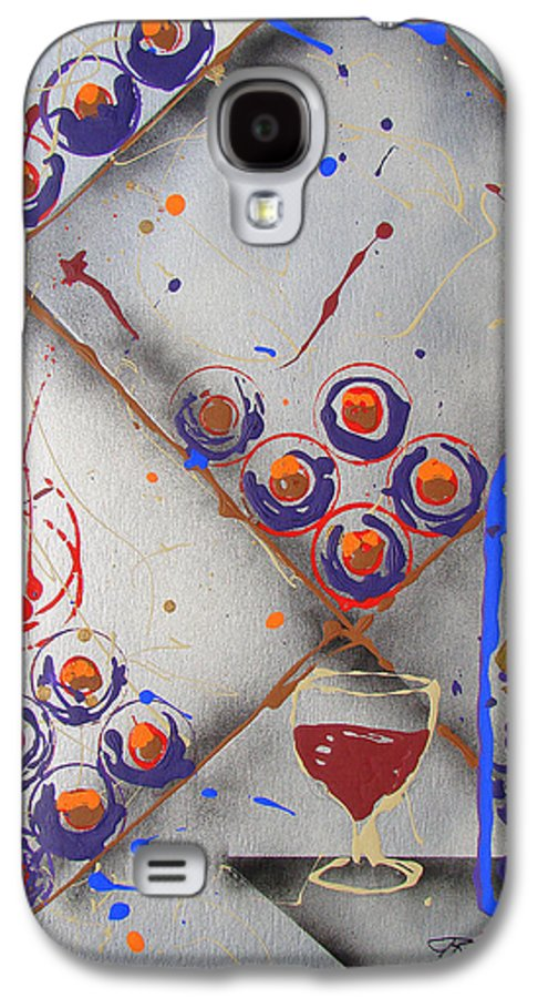Wine Galaxy S4 Case featuring the painting Wine Connoisseur by J R Seymour