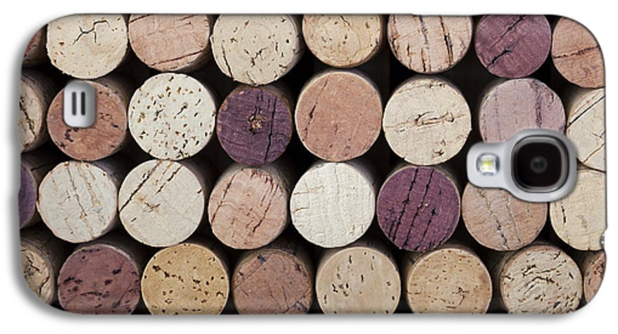Alcohol Galaxy S4 Case featuring the photograph Wine Corks by Jane Rix