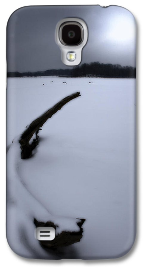 Winter Galaxy S4 Case featuring the photograph Winter Moonrise by Kenneth Krolikowski
