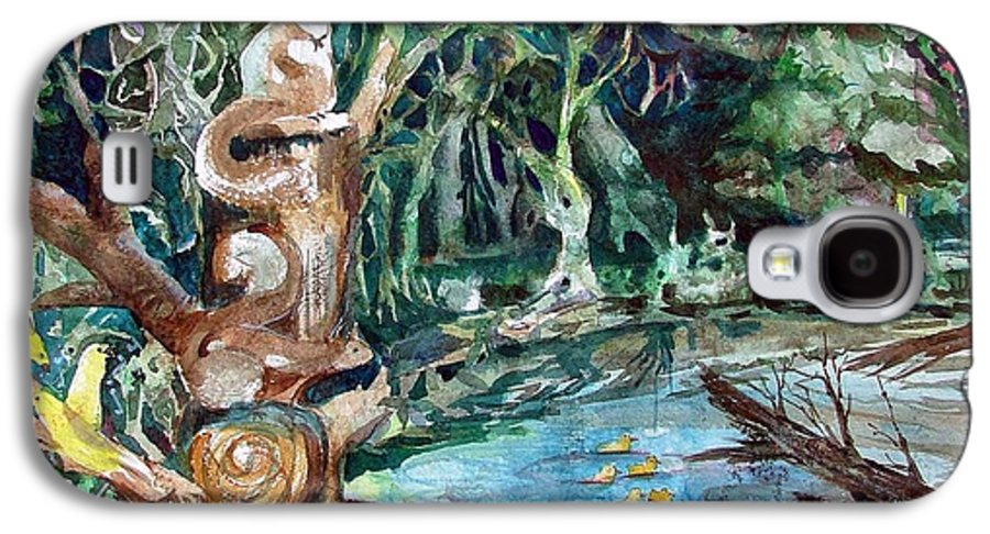 Squirrels Galaxy S4 Case featuring the painting Woodland Critters by Mindy Newman