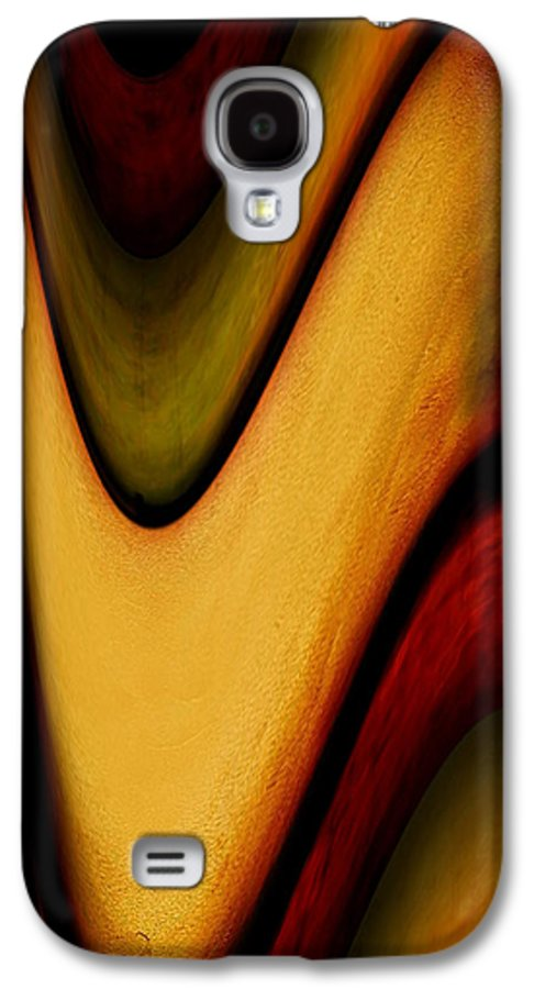 Wrapped Galaxy S4 Case featuring the painting Wrapped by Jill English