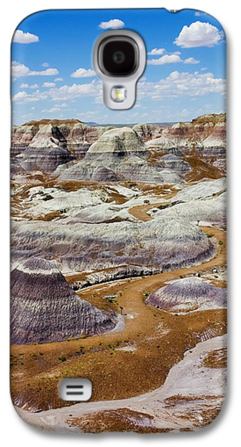 Painted Desert Galaxy S4 Case featuring the photograph Yea Though I Walk by Skip Hunt