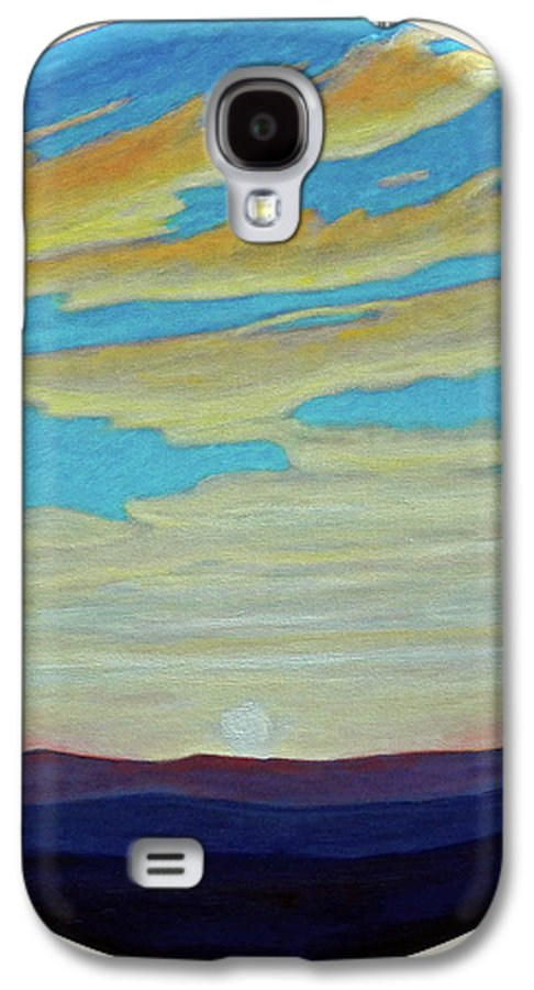 Landscape Galaxy S4 Case featuring the painting Yesterday by Brian Commerford