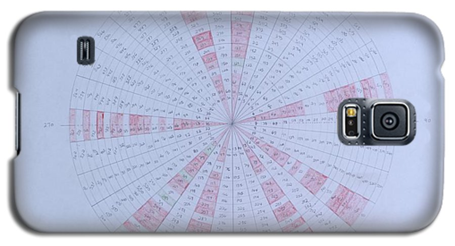 Prime Galaxy S5 Case featuring the drawing Prime Number Pattern P Mod 30 by Jason Padgett
