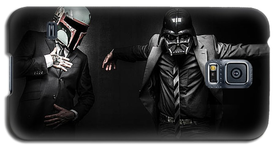 Starwars Galaxy S5 Case featuring the photograph Starwars Suitup by Marino Flovent