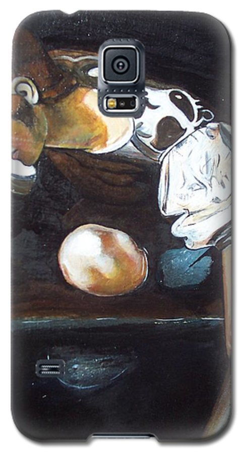 Galaxy S5 Case featuring the painting Detail by Jude Darrien
