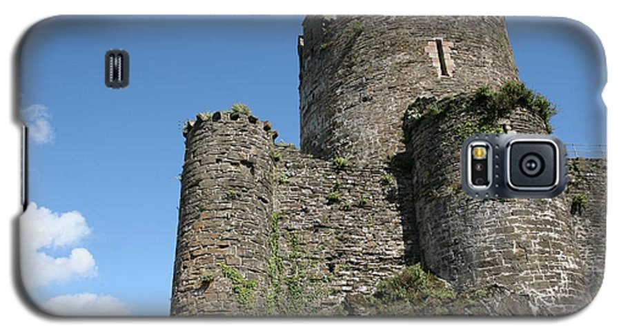 Castles Galaxy S5 Case featuring the photograph Conwy Castle by Christopher Rowlands