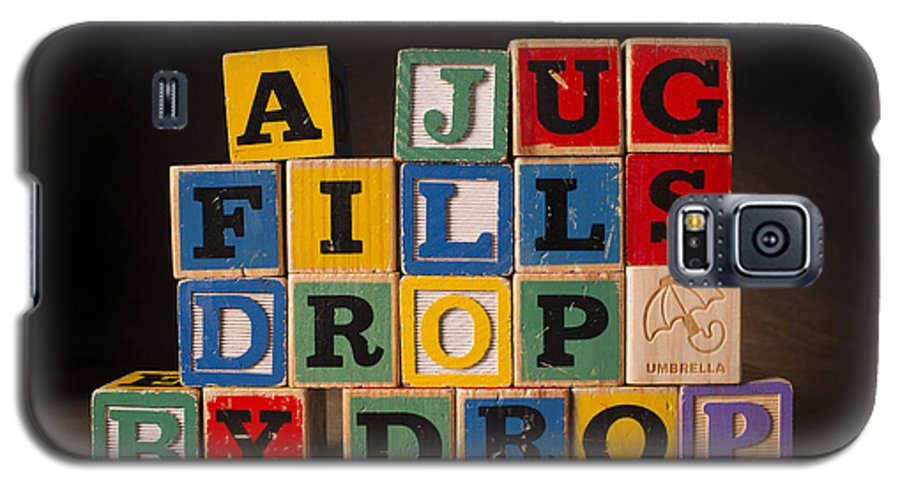 A Jug Fills Drop By Drop Galaxy S5 Case featuring the photograph A Jug Fills Drop By Drop by Art Whitton