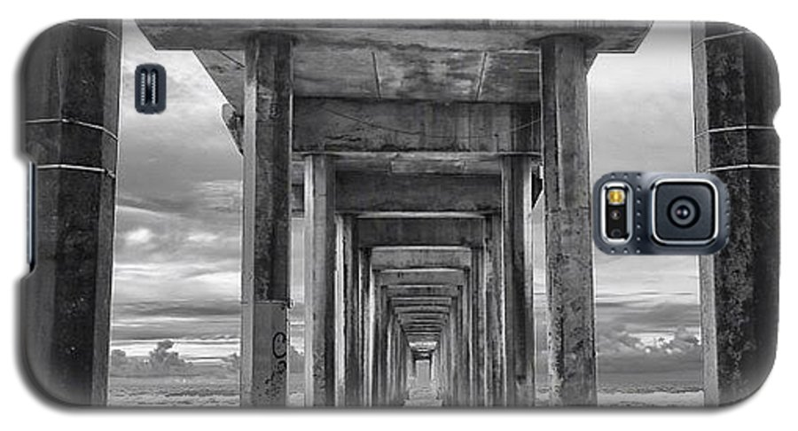 Galaxy S5 Case featuring the photograph A Stormy Day In San Diego At The by Larry Marshall