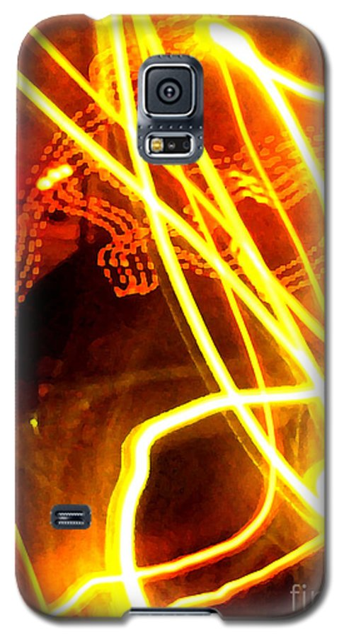 Abstract Galaxy S5 Case featuring the photograph Abstract by Amanda Barcon
