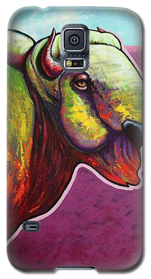 Wildlife Galaxy S5 Case featuring the painting American Monarch by Joe Triano
