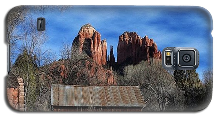 Galaxy S5 Case featuring the photograph Another Beautiful Day During Our by Larry Marshall