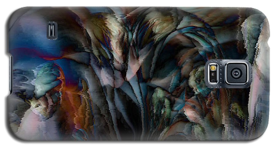 Another World Art Galaxy S5 Case featuring the digital art Another World by Linda Sannuti